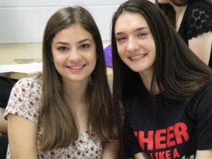 Brianna Leopold and Molly Haberman
